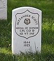 Alexander Scott grave - Arlington National Cemetery - 2011.JPG