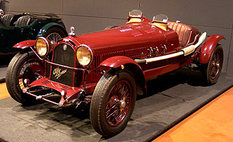 Alfa Romeo 6C - 6C 1500 Super Sport 1929 from Louwman Collection