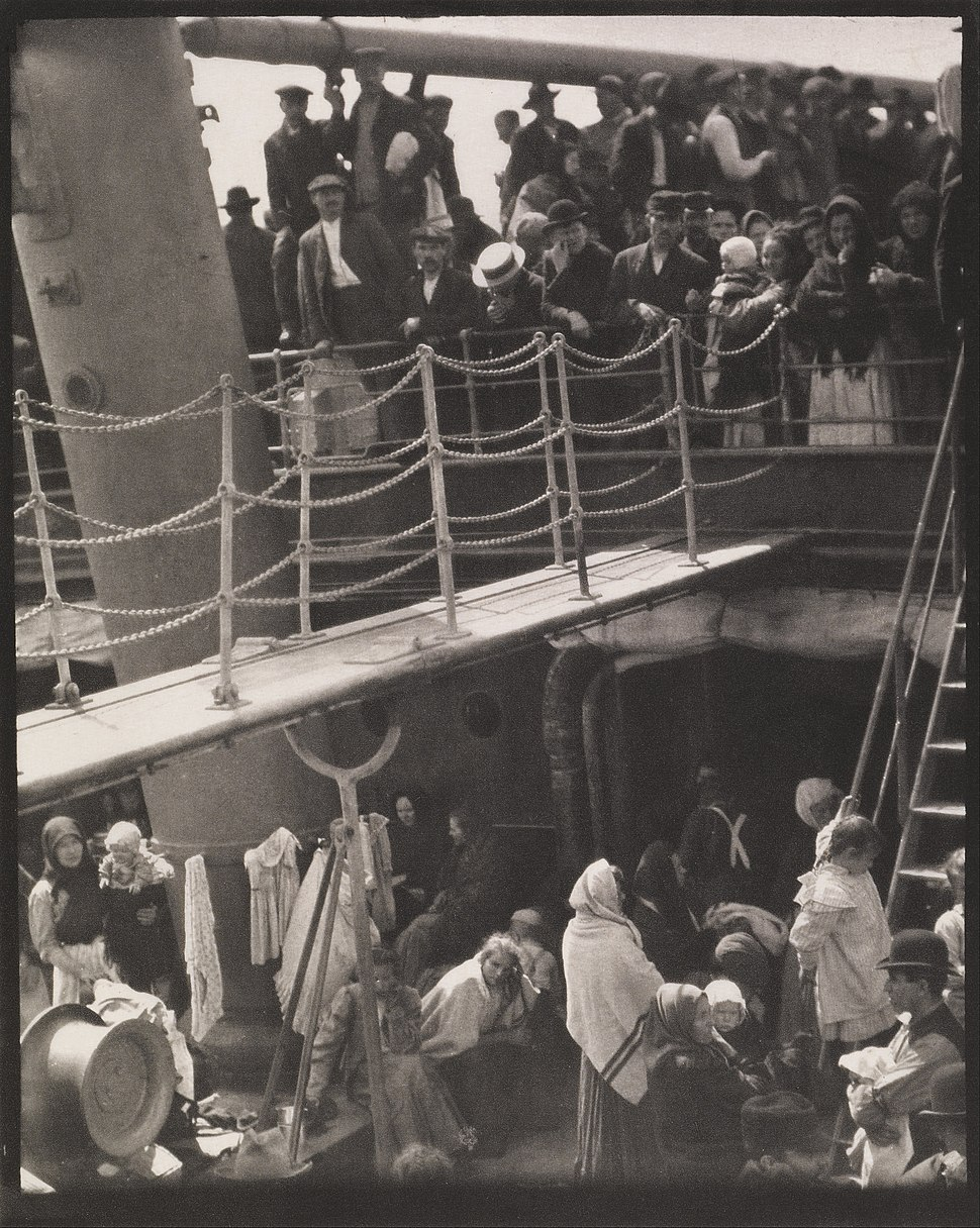 Alfred Stieglitz - The Steerage - Google Art Project