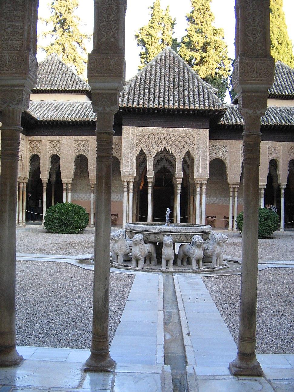 Alhambra-Patio dos Leóns