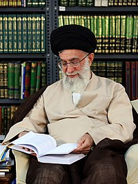 Ali Khamenei reading book 01.jpg