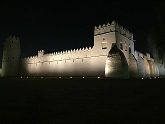 Al Ain - Al-Jahili Fort, among the largest castles in the region