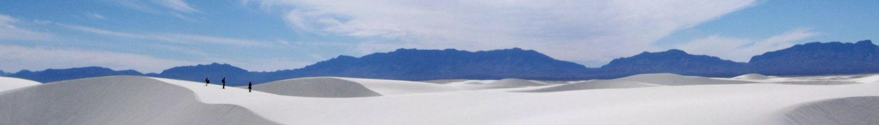 Alkali Flats Trail, White Sands National Monument