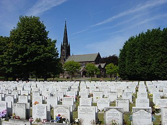 Parks and open spaces in Liverpool - Image: Allerton Cemetery geograph.org.uk 40793