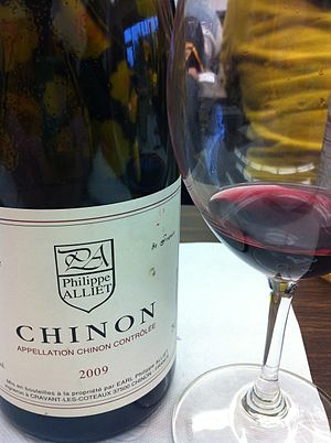 Chinon AOC - An AOC Chinon wine