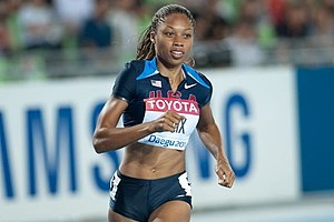 Adidas Track Classic - Double World Champion Allyson Felix has the 200 meters record.