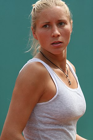 Alona Bondarenko - Bondarenko at the 2008 French Open
