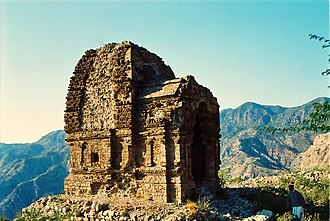 Pakistani architecture - One of the ruined Amb Temples constructed between the 7th and 9th centuries