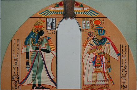 Stele showing Amenhotep I with his mother Amenhotep I.jpg