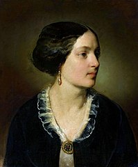 Portrait of Katarzyna Potocka née Branicka.
