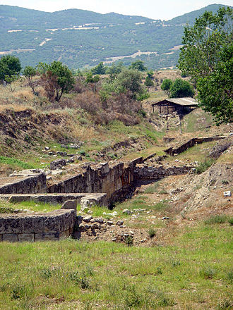 Amphipolis - Fortifications and bridge of Amphipolis.