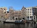 Amsterdam, straatzicht de Singel rond 277 met RM's foto2 2014-01-12 14.30.jpg