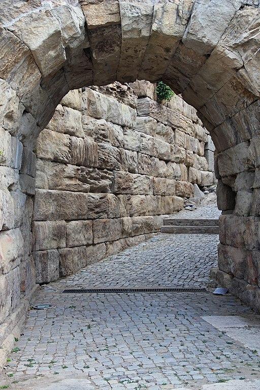 Ancient Roman Theatre, Plovdiv, detail 05