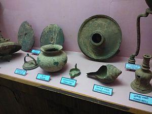 Government Museum, Tiruchirappalli - pottery of Tamils civilization