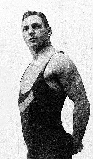 Anders Larsson (wrestler) - Anders Larsson in 1920