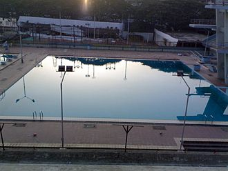 Andheri Sports Complex - Image: Andheri Sports Complex Diving Pool