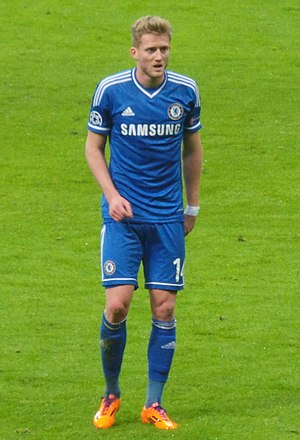 André Schürrle - Schürrle with Chelsea in 2014