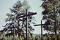 Andrzejewo - Mauzoleum 18 DP 1975 09 12 Krzyże.jpg