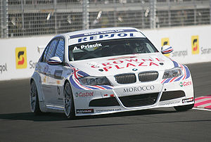2009 World Touring Car Championship - Former World Champion Andy Priaulx again drove for BMW Team UK in 2009.