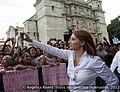 Angelica Rivera de Peña en el Encuentro con los oaxaqueños en la Alameda Central en Oaxaca, Oaxaca. (6923446660).jpg