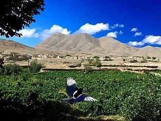 Anjirak, Markazi - Image: Anjirak Village in Arak County