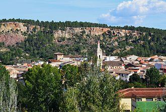 Anna, Valencia - Image: Anna, vista del nucli antic