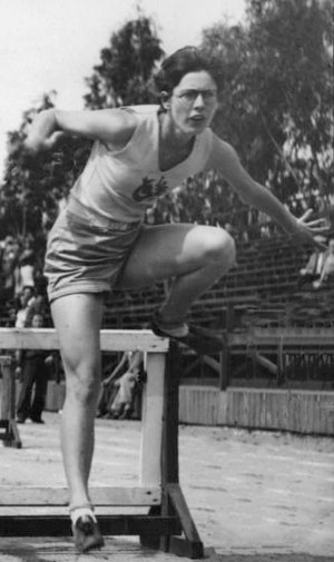 Anne O'Brien (athlete) - O'Brien in 1932