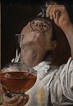 Trinkender Jüngling, ca. 1582–83, Cleveland Museum of Art, Cleveland (Ohio) (Quelle: Wikimedia)