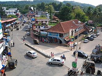 Erattupetta - Town's junction