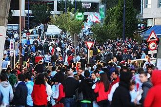 RC Celta de Vigo - Celta de Vigo supporters before a game