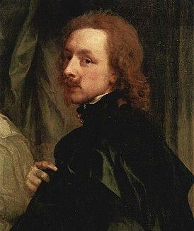 Автопортрет (фрагмент). Ок. 1623
