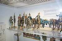 Antique paper toy soldiers (26789828005).jpg