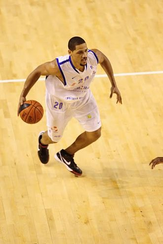 BC Neptūnas - Antonio Grant, leader of the team during the 2004–2005 season