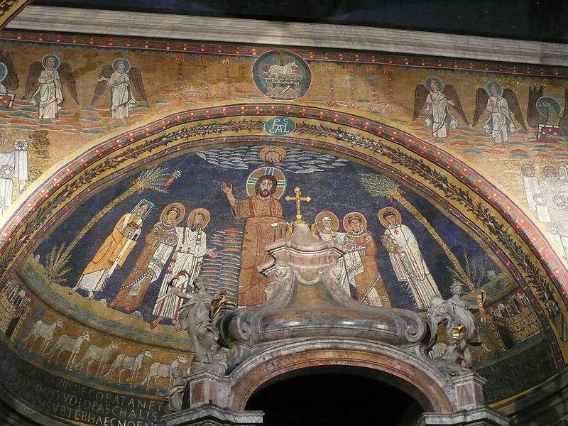 Apsis mosaic S Prassede Rome W2.JPG