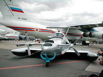 Ground effect vehicle - A Russian light ekranoplan, Aquaglide-2