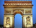 Arc de Triomphe (Nuit) - panoramio.jpg