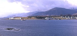 Ardgour - Looking across Loch Linnhe to North Corran and Ardgour, Sgurr na h-Eanchainne (731 m) behind