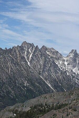 Argonaut Peak - Argonaut Peak from the southwest