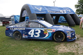 Richard Petty Motorsports - Almirola's 2013 Sprint Cup car, the same Air Force scheme he took to victory lane at Daytona in 2014