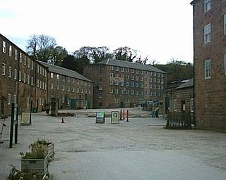 Cromford Mill Grade I listed mill in Derbyshire Dales, United Kingdom