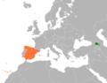 Armenia Spain Locator.png