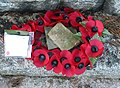 Armistice Day wreath, Weston under Penyard - geograph.org.uk - 1041483.jpg