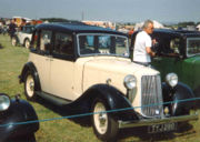 1936 Armstrong Siddeley 12HP