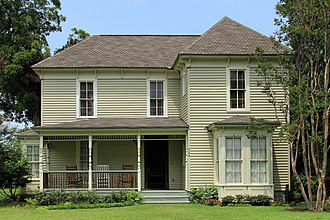 National Register of Historic Places listings in Williamson County, Texas - Image: Arnold torbet house georgetown tx 2014