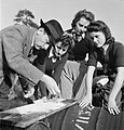 Arrest That Rat- the work of the Women's Land Army Rat Catchers, Sussex, 1942 D11227.jpg