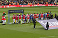 Arsenal v Chelsea Line Up 2 (7100428505).jpg