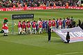 Arsenal v Chelsea Line Up 2 (7100428505).jpg