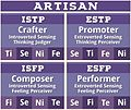 Artisan ST Personality Type MBTI.jpg