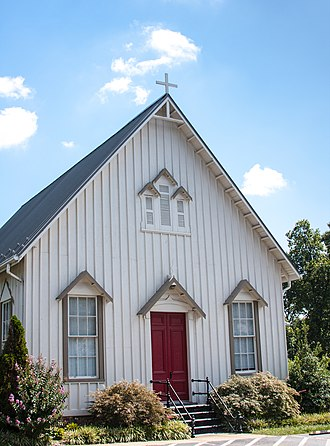 National Register of Historic Places listings in Loudoun County, Virginia - Image: Ashburn Presbyterian Church
