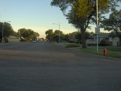 View of an intersection in Ashland (2006)